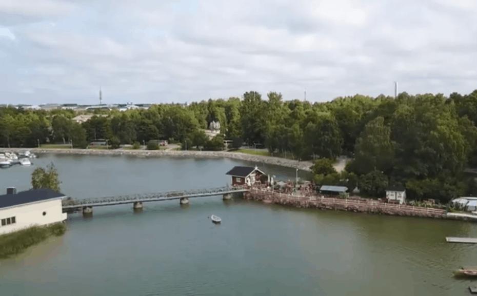 Café regatta em Helsinque