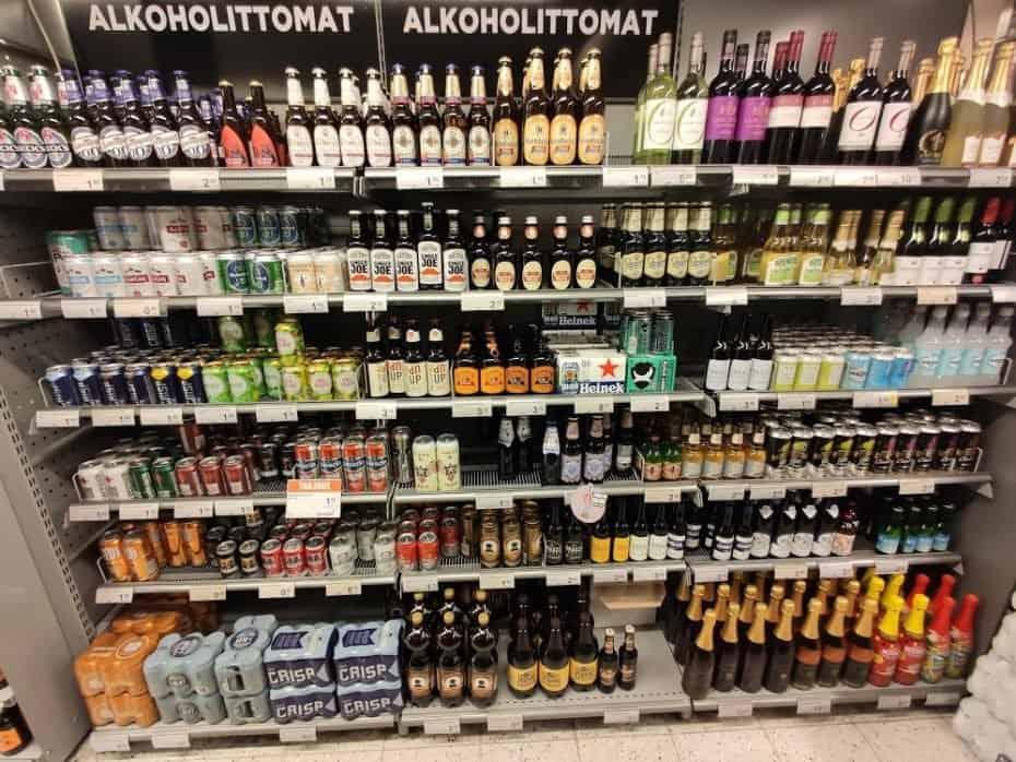 cervejas na Finlândia