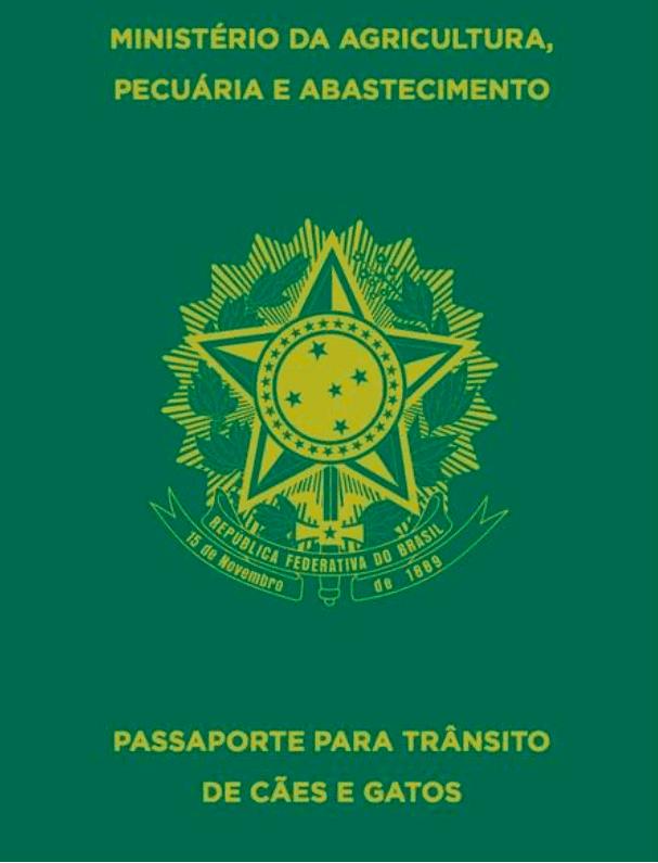 Passaporte para animais de estimação