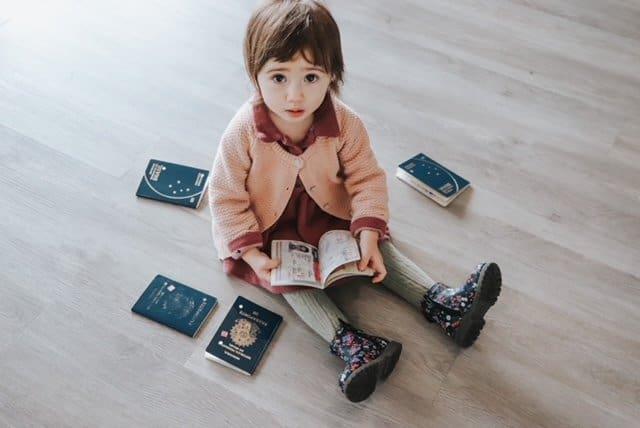 Passaportes para bebês